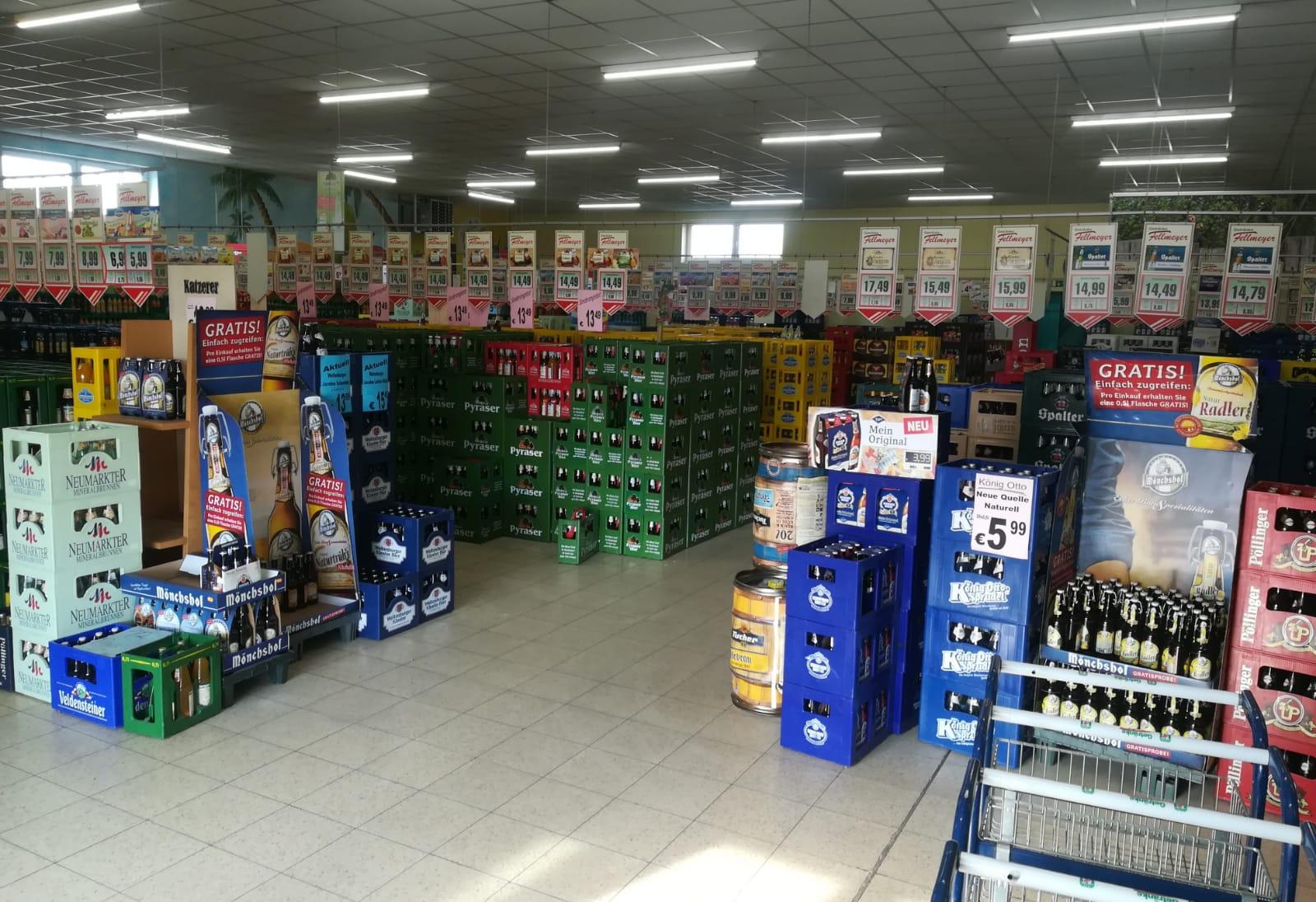 Markt von innen